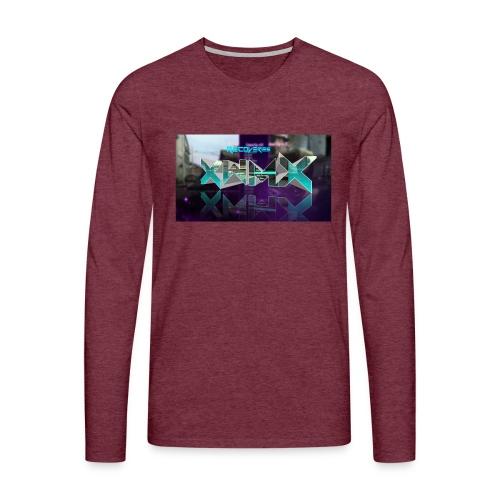 XZWhModzZX - Herre premium T-shirt med lange ærmer