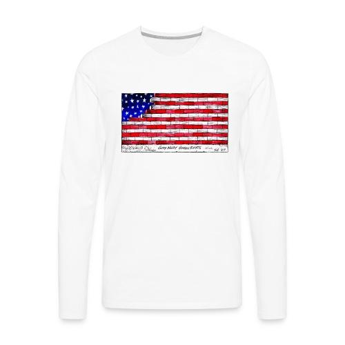 Good Night Human Rights - Men's Premium Longsleeve Shirt