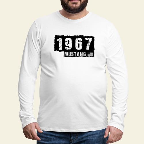 1967 - Herre premium T-shirt med lange ærmer
