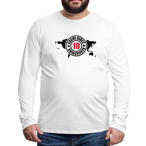 cache hides - 10 - Männer Premium Langarmshirt