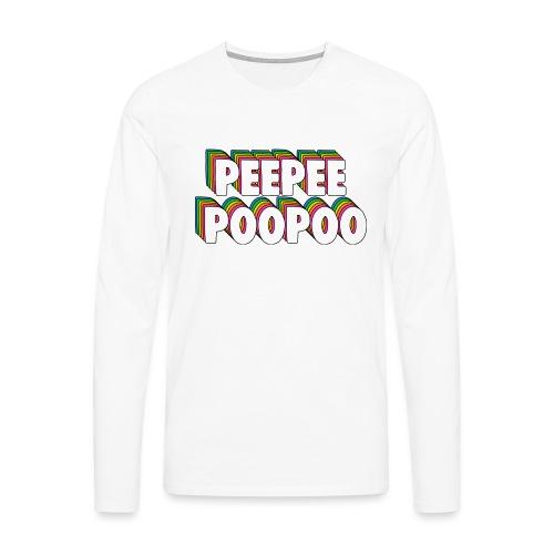 PEEPEEPOOPOO Meme - Men's Premium Longsleeve Shirt