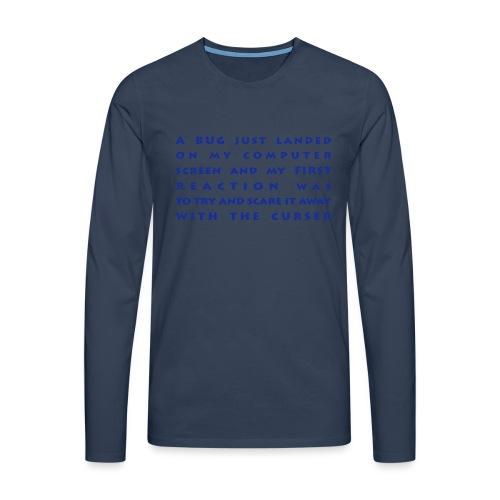 bug - Miesten premium pitkähihainen t-paita