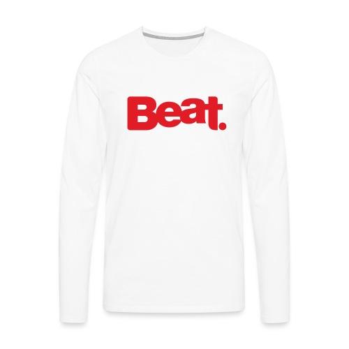 Beat Mug - Men's Premium Longsleeve Shirt