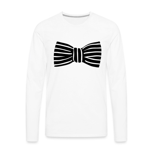 bow_tie - Men's Premium Longsleeve Shirt