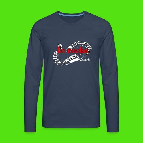 La Rocka black'n'red tsp - Men's Premium Longsleeve Shirt