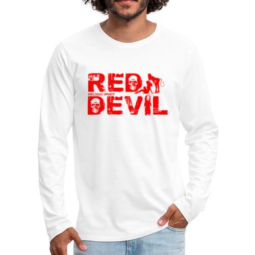 BELGIAN-RED-DEVIL - T-shirt manches longues Premium Homme