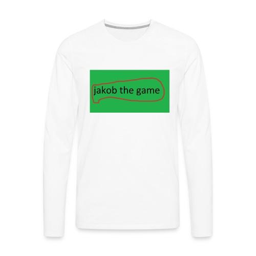 jakobthegame - Herre premium T-shirt med lange ærmer