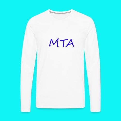 #MTA t-shirts - Herre premium T-shirt med lange ærmer