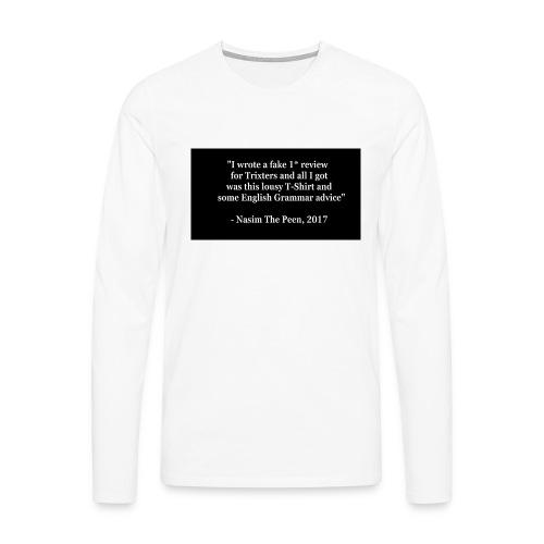 NasimPeen - Men's Premium Longsleeve Shirt