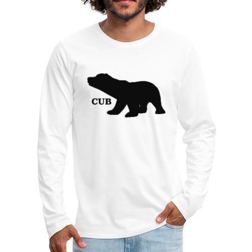 Bear Cub - Men's Premium Longsleeve Shirt