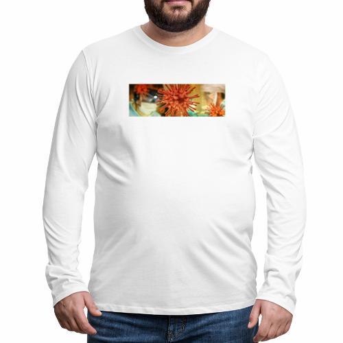 Koronawirus, Coronavirus - Koszulka męska Premium z długim rękawem