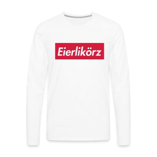 Eierlikörz SSFW 2017 Shirt - Männer Premium Langarmshirt