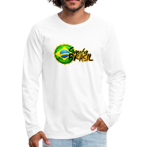 Rio de Janeiro Samba - Men's Premium Longsleeve Shirt