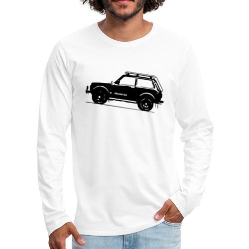 Lada Niva 2121 Russin 4x4 - Männer Premium Langarmshirt