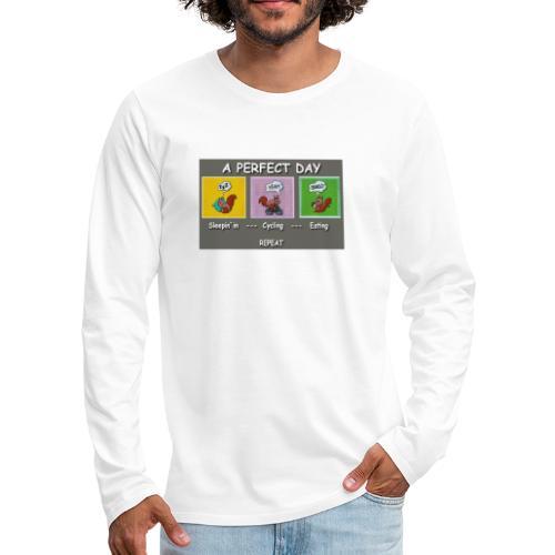 A Perfect Day Halmi - Comic - Männer Premium Langarmshirt