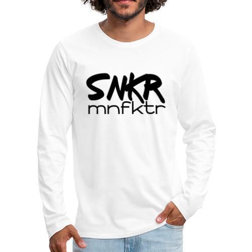 snkrmnfktr - Männer Premium Langarmshirt