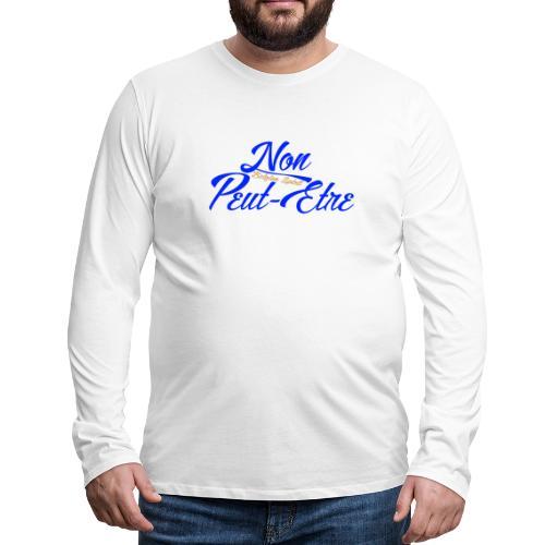 BELGIAN-NONPEUTETRE - T-shirt manches longues Premium Homme