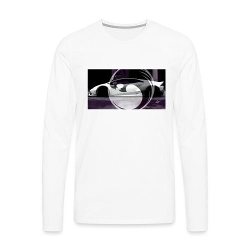 lion black lyon design - Men's Premium Longsleeve Shirt