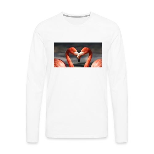 flamingo - Männer Premium Langarmshirt
