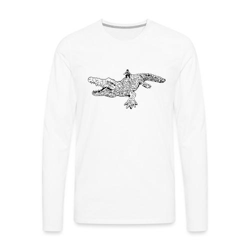 JUANCHO RIDES AGAIN MASTER - Men's Premium Longsleeve Shirt