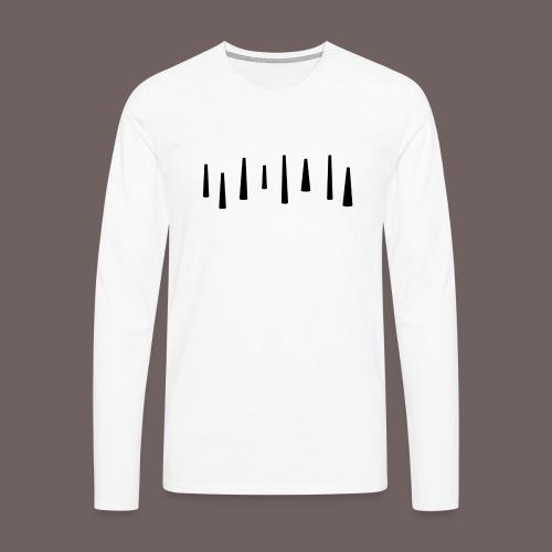 GBIGBO zjebeezjeboo - Fun - Tops 01 Noir - T-shirt manches longues Premium Homme