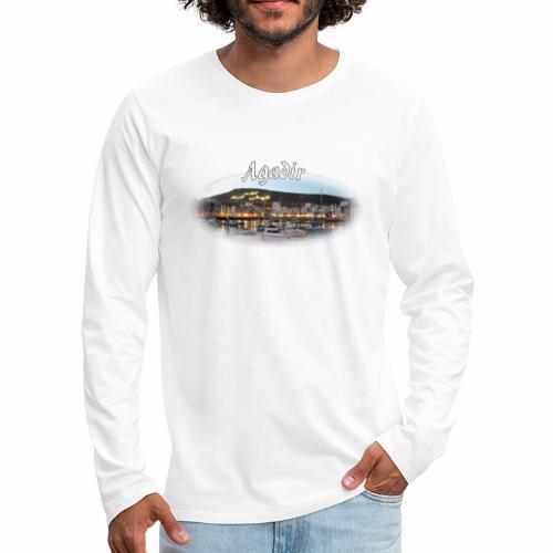 Agadir, Morocco - Men's Premium Longsleeve Shirt