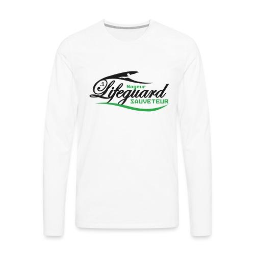 lifeguard NS - T-shirt manches longues Premium Homme
