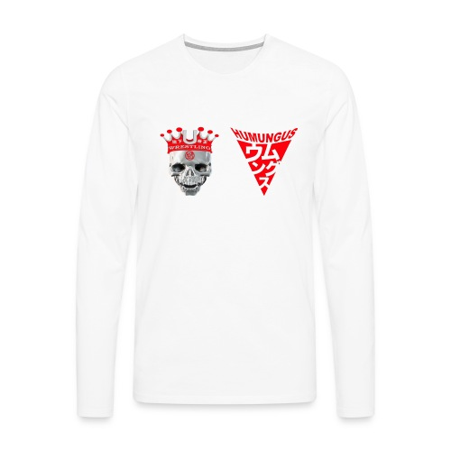 skull krone humungus3 png - Männer Premium Langarmshirt