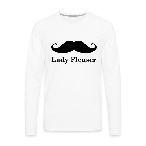 Lady Pleaser T-Shirt in Green - Men's Premium Longsleeve Shirt