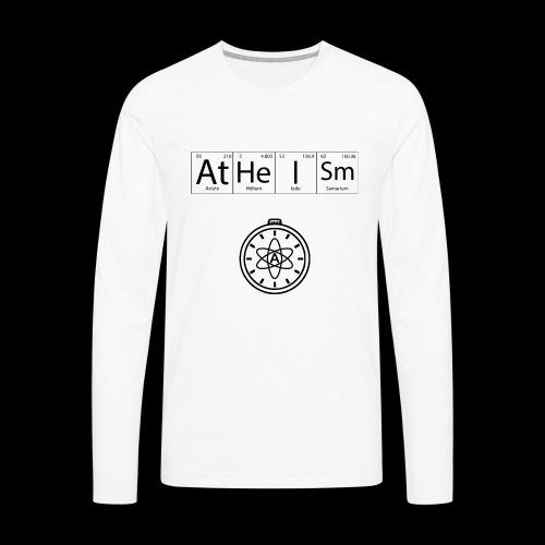 AtHeISm - T-shirt manches longues Premium Homme
