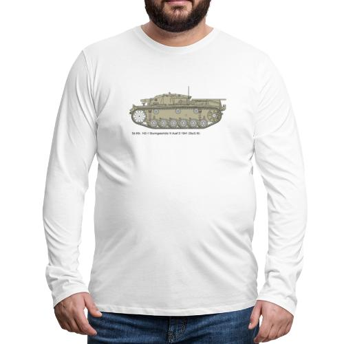 Stug III Ausf D. - Männer Premium Langarmshirt
