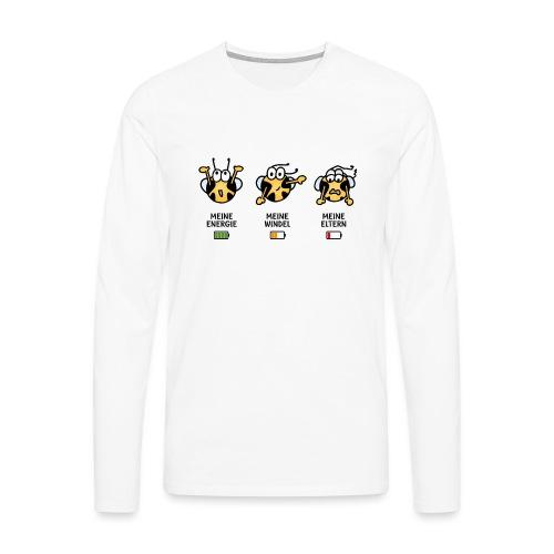 Babyindikator - Männer Premium Langarmshirt