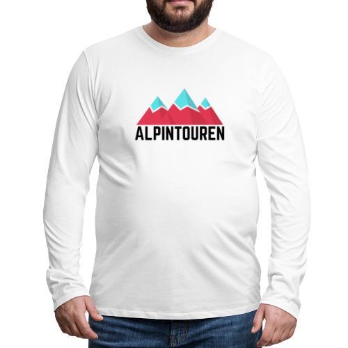 Alpintouren - Männer Premium Langarmshirt