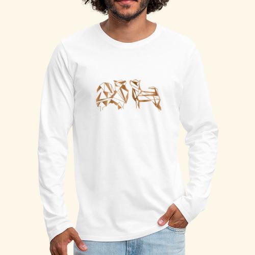 Chihuahua - Miesten premium pitkähihainen t-paita
