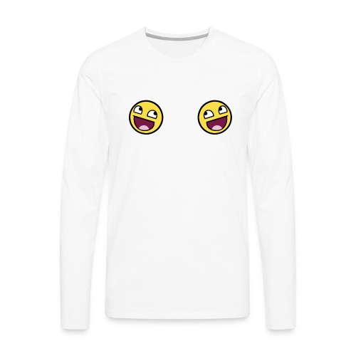 Design lolface knickers 300 fixed gif - Men's Premium Longsleeve Shirt
