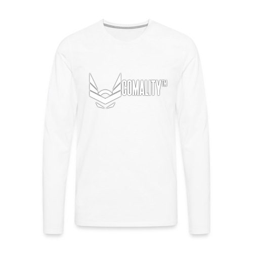 AWESOMECAP   Comality - Mannen Premium shirt met lange mouwen