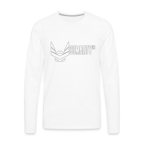 COFEE   Comality - Mannen Premium shirt met lange mouwen