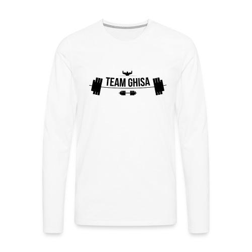 TEAMGHISALOGO - Maglietta Premium a manica lunga da uomo