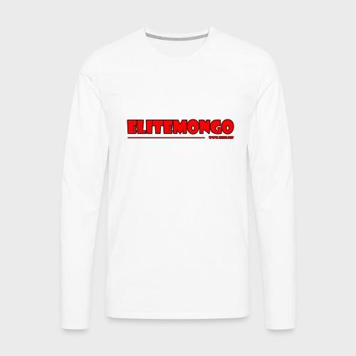 Elitemongo - Männer Premium Langarmshirt