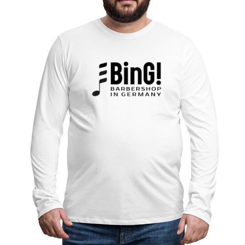 BinG Logo - Männer Premium Langarmshirt