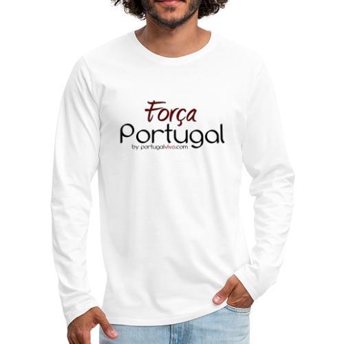 Força Portugal - T-shirt manches longues Premium Homme