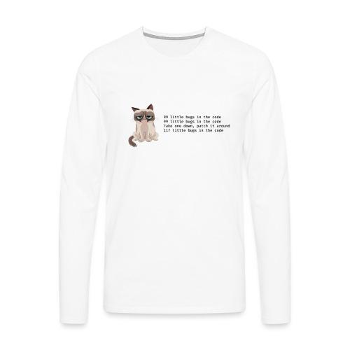 99 litle bugs of code - Mannen Premium shirt met lange mouwen