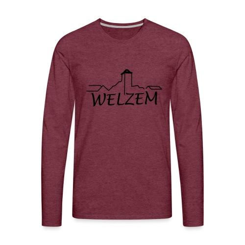 Welzem - Männer Premium Langarmshirt