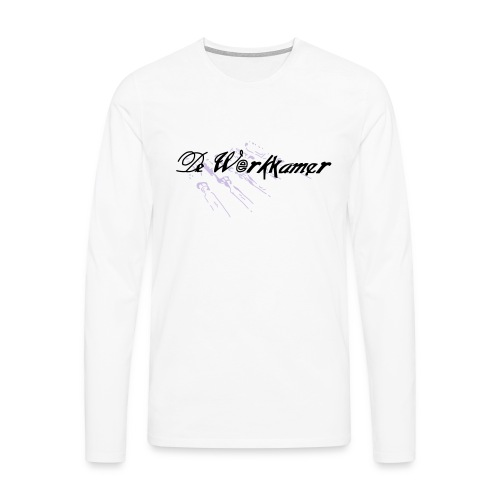 werkkamer edit - Mannen Premium shirt met lange mouwen