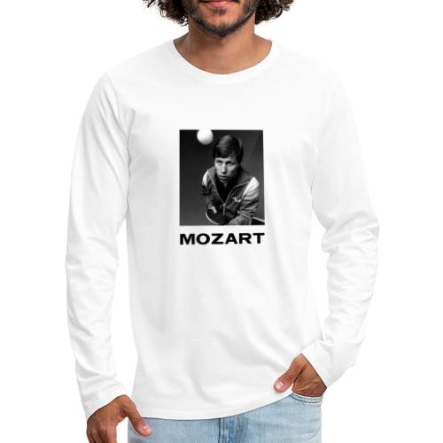 Waldner Mozart - Långärmad premium-T-shirt herr