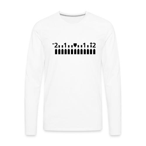 Manuell - Männer Premium Langarmshirt