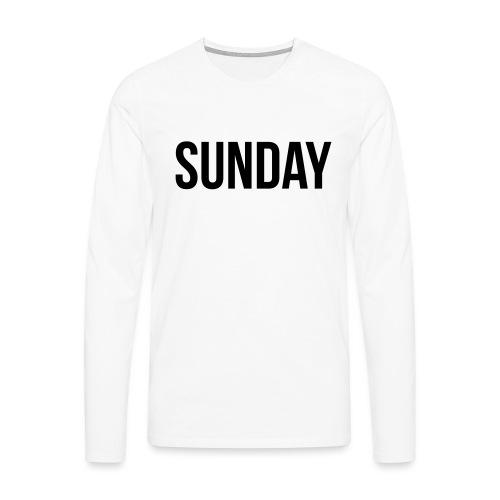 Sunday - Men's Premium Longsleeve Shirt