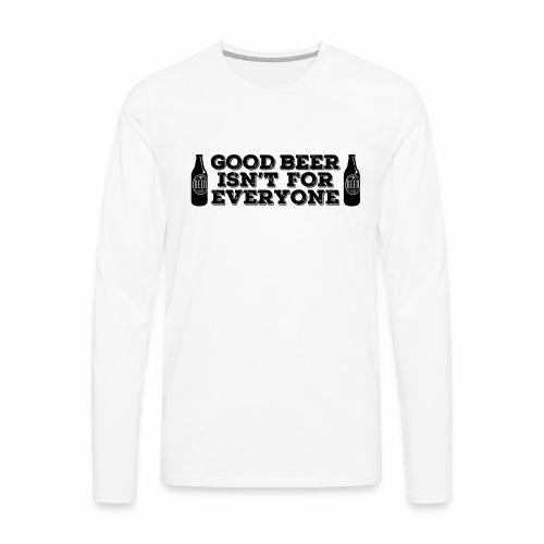 Good Beer - Men's Premium Longsleeve Shirt