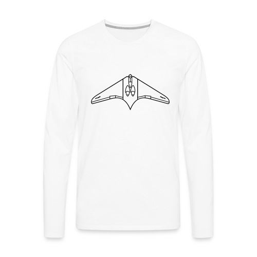 Horten H IX V 2 / Ho 229 - Männer Premium Langarmshirt