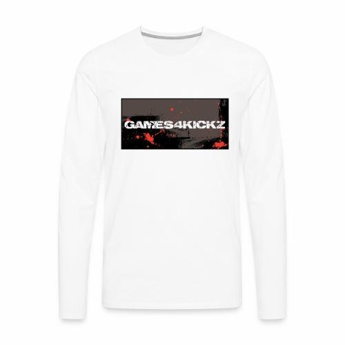Games4Kickz Logo 004 - Men's Premium Longsleeve Shirt